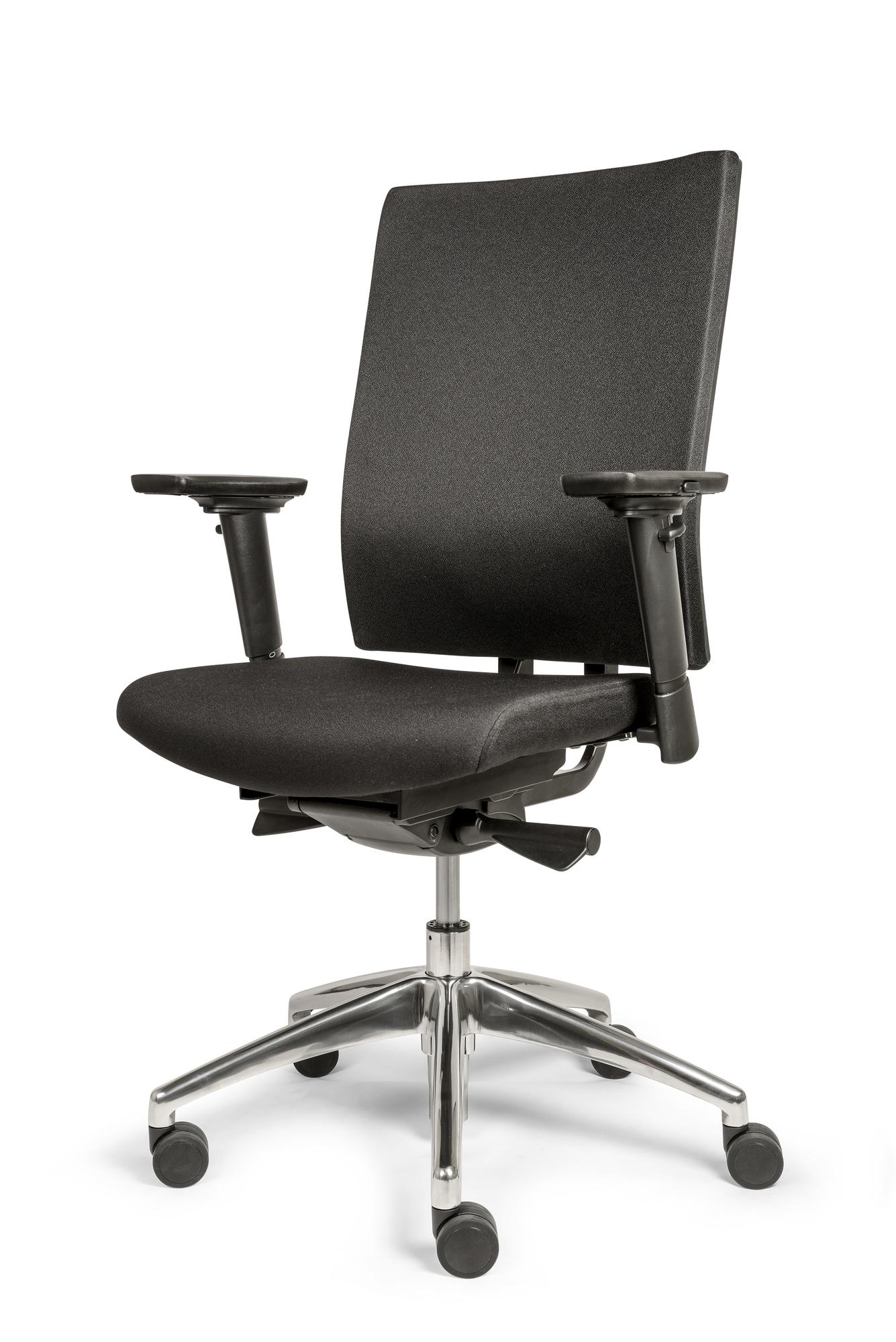 Bureaustoel Egner Excellent Comfort zwart/4D